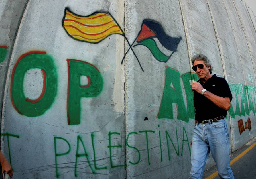 El matón del BDS, Roger Waters se esconderá detrás de sus lacayos y se negará a debatir