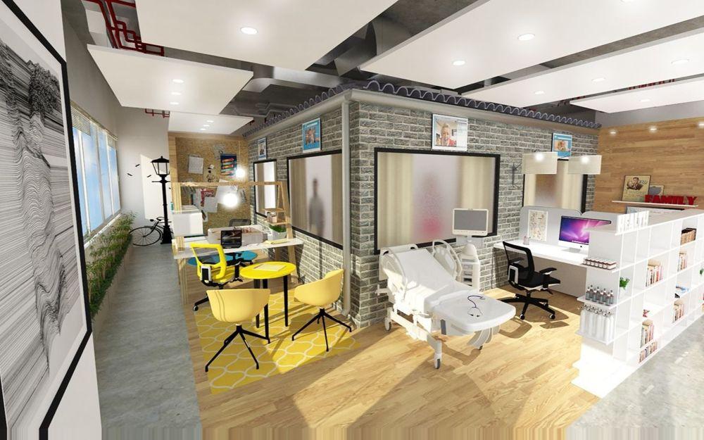 El nuevo Innovation Lab, creado por el Instituto Nacional de Seguros de Israel junto con el Centro de Innovación Digital (CDI), establece escenarios que afectan a los ciudadanos de la tercera edad en sus rutinas diarias (Courtesy CDI)
