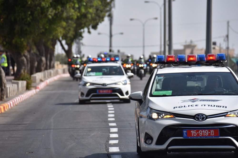 Esta foto publicada el domingo 21 de enero de 2018 muestra los preparativos de la policía israelí antes de la visita de dos días del vicepresidente estadounidense, Mike Pence, que tiene lugar principalmente en Jerusalém. (Crédito de la foto: Policía de Israel)