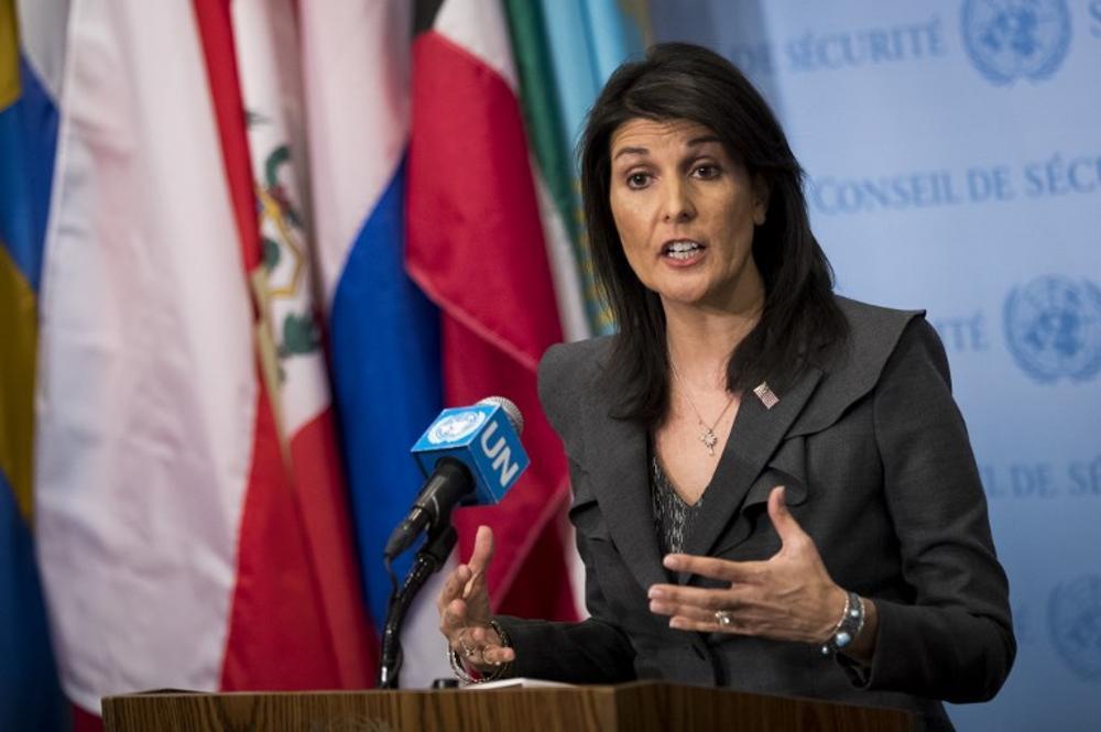 Nikki Haley pide una sesión de emergencia de la ONU sobre las protestas en Irán