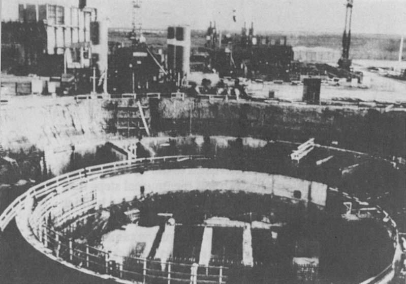 El reactor de Osirak antes del bombardeo israelí 1981 (Foto: Wikipedia)