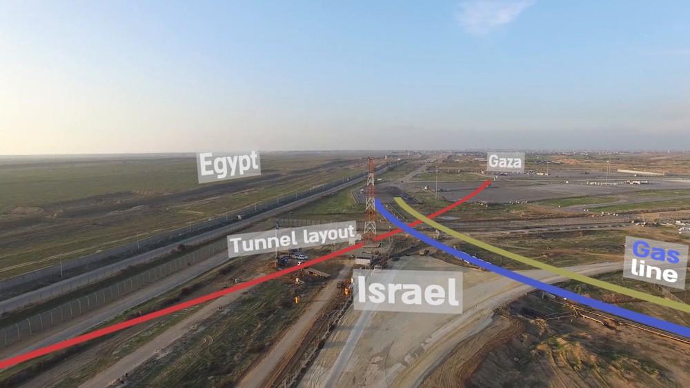 Trayectoria de túneles de Hamas