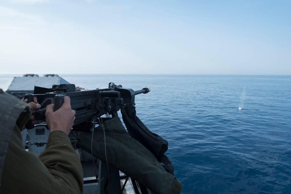 Ejercicio naval, febrero 2018 (portavoz de las FDI)