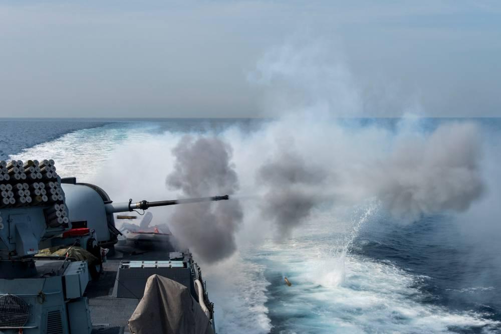 Ensayo de guerra naval - Israel (Portavoz FDI)