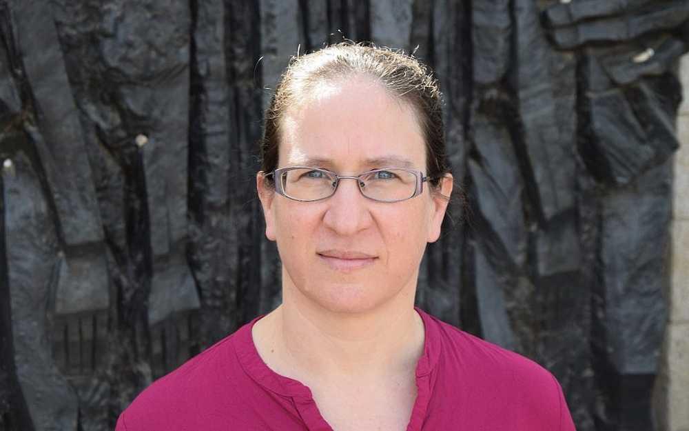 Havi Dreifuss, un erudito de la Universidad de Tel Aviv y director del centro de Yad Vashem para la investigación sobre el Holocausto en Polonia.Febrero de 2018. (Yad Vashem)