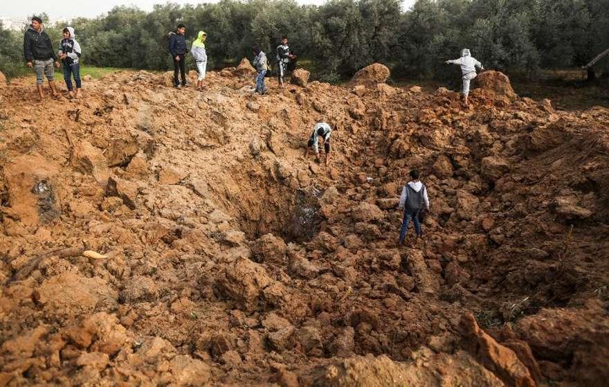 Israel ataca túnel de Gaza después de nuevo lanzamiento de cohetes