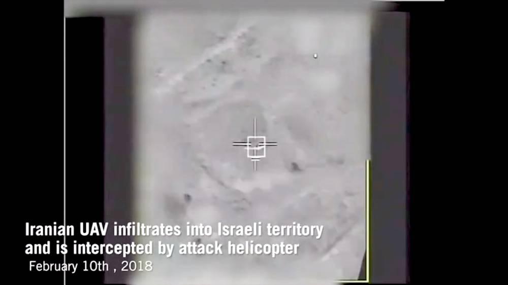 Israel derriba dron iraní