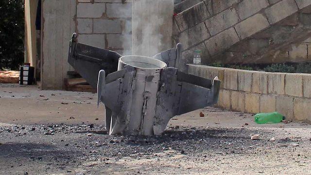 Los restos de un misil sirio que colisionó en Israel.Las reglas del juego están cambiando(Foto: AFP)