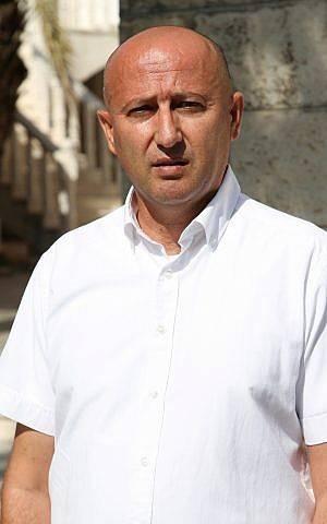 Majdi Halabi, corresponsal en Israel del sitio de noticias árabe Elaph, con sede en Londres. (Cortesía)