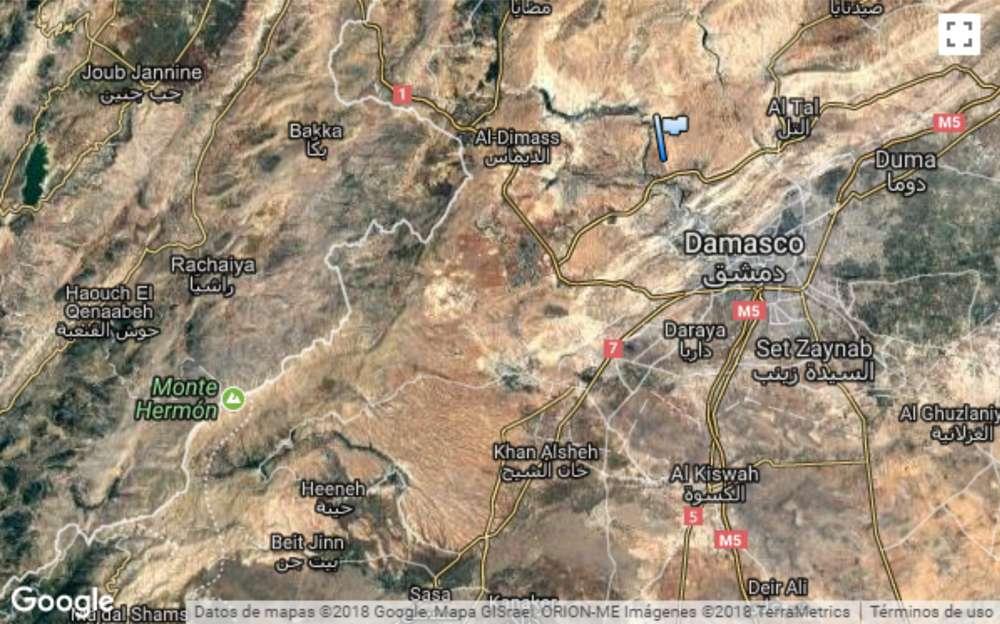 Datos de mapas © 2018 Google, Mapa GISrael, ORION-ME Imágenes © 2018 TerraMetrics