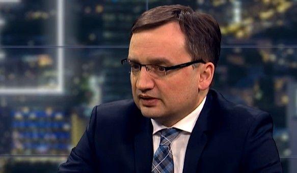 Ministro de Justicia polaco Zbigniew Ziobro (captura de pantalla de YouTube)