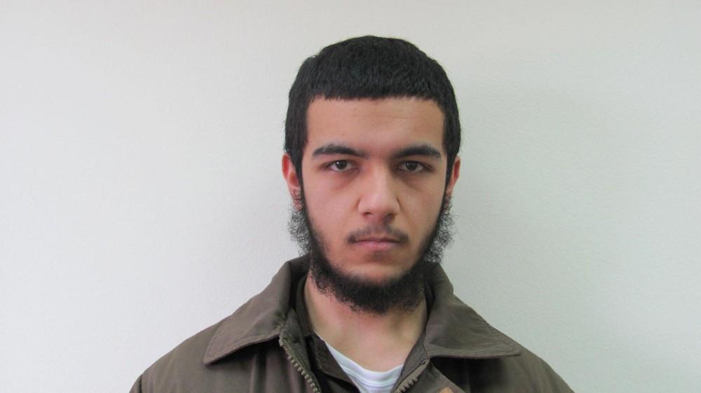 Muhammad Jabarin, sospechoso de ayudar a planear un ataque terrorista inspirado por el Estado Islámico contra una sinagoga de Tel Aviv, fue acusado el 26 de febrero de 2018. (Shin Bet)