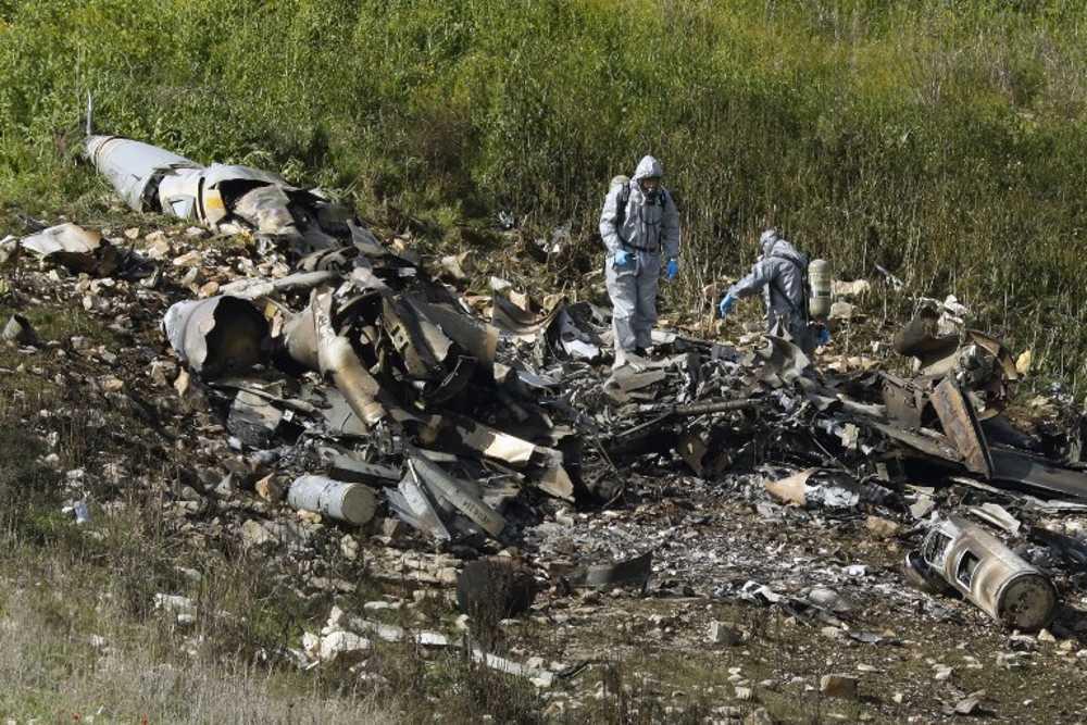 Qué sucedió con el F-16 de Israel que cayó en el Valle de Jezreel