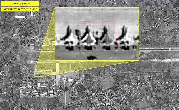 Las imágenes satelitales de ImageSat International de Israel muestran los Su-57s rusos en Siria.