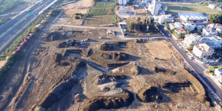 Descubrieron sitio prehistórico de medio millón de años en Jaljulia