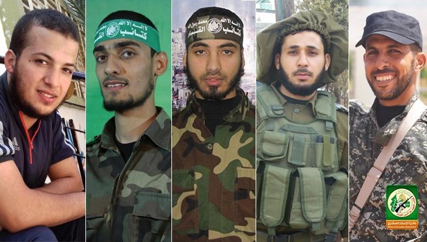 Cinco terroristas de Hamas muertos en la llamada Marcha del Retorno