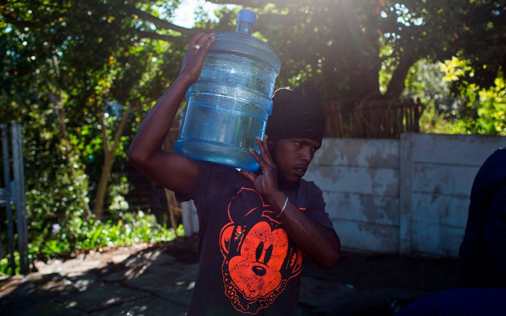Ciudad del Cabo se queda sin agua - Tecnología de Israel