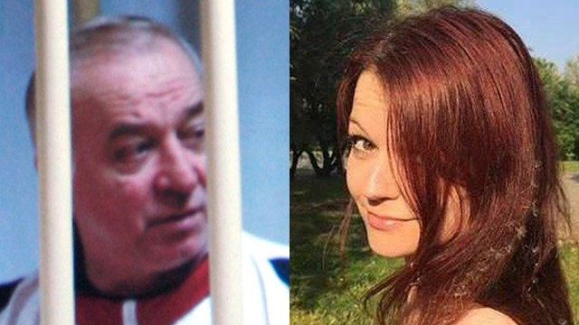 El agente doble ruso Sergei Skripal (izq.) Y su hija Yulia estaban en estado crítico después de un ataque de agente nervioso(Foto: AP)