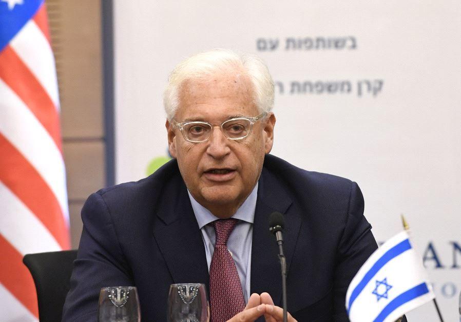 Embajador de Estados Unidos en Israel - Jerusalem