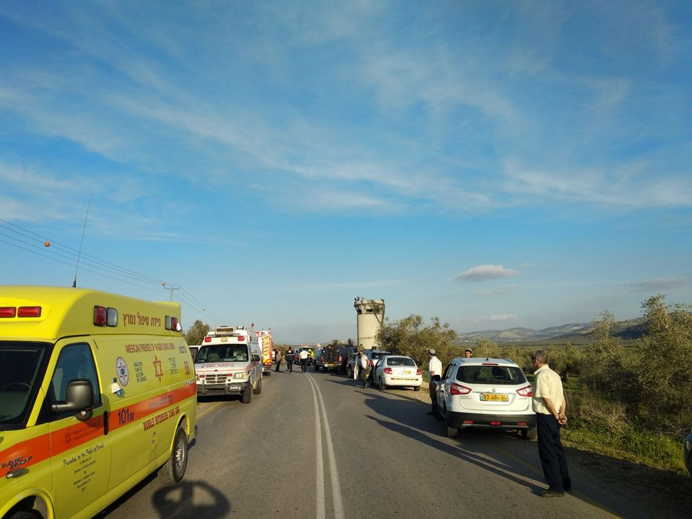 Equipos de emergencia en la escena (Foto: MDA)