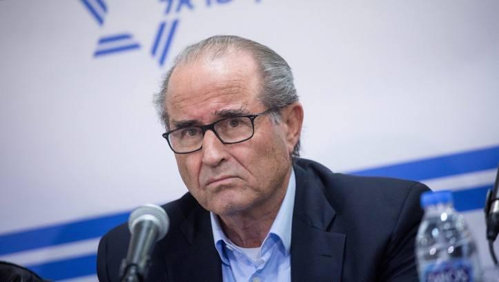Ex jefe del Mossad, Shabtai Shavit.(Miriam Alster / Flash 90)