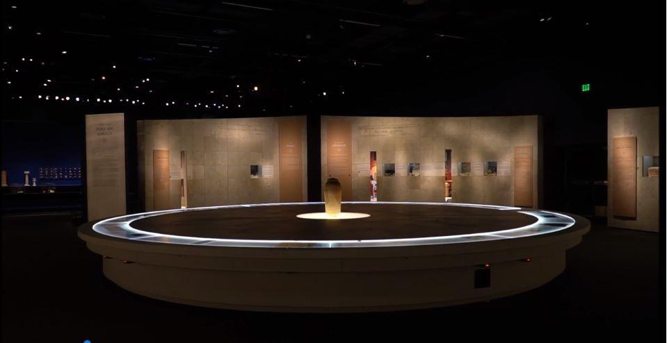 Exposición de la Autoridad de Antigüedades de Israel en el Museo de Naturaleza y Ciencia de Denver.(Yoli Shwartz, Autoridad de Antigüedades de Israel)