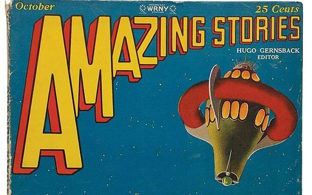 """Hugo Gernsback fundó la revista de ciencia ficción """"Amazing Stories"""" en 1926. (Cortesía del Instituto YIVO de Estudios Judíos a través de JTA)"""
