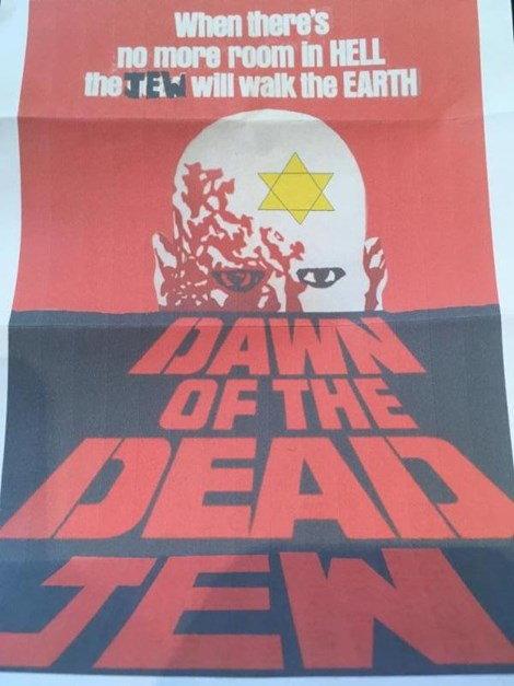Correo de odio antisemita enviado a la firma de abogados de Toronto Cortesía del Centro Friends of Simon Wiesenthal
