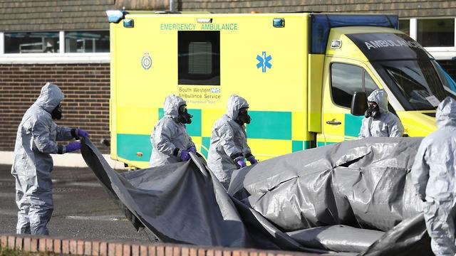 Investigadores en el Reino Unido examinan el área donde el doble agente fue envenenado(Foto: MCT)