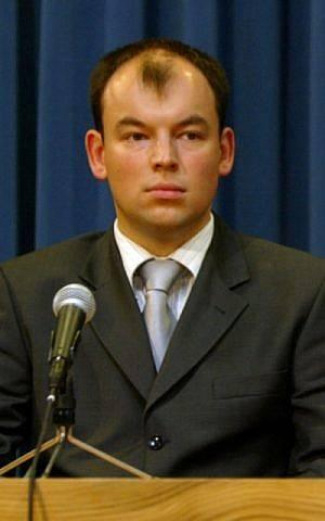 Jan Dziedziczak, subdirector del Ministerio de Asuntos Exteriores de Polonia, en una fotografía sin fecha.(Gobierno polaco)
