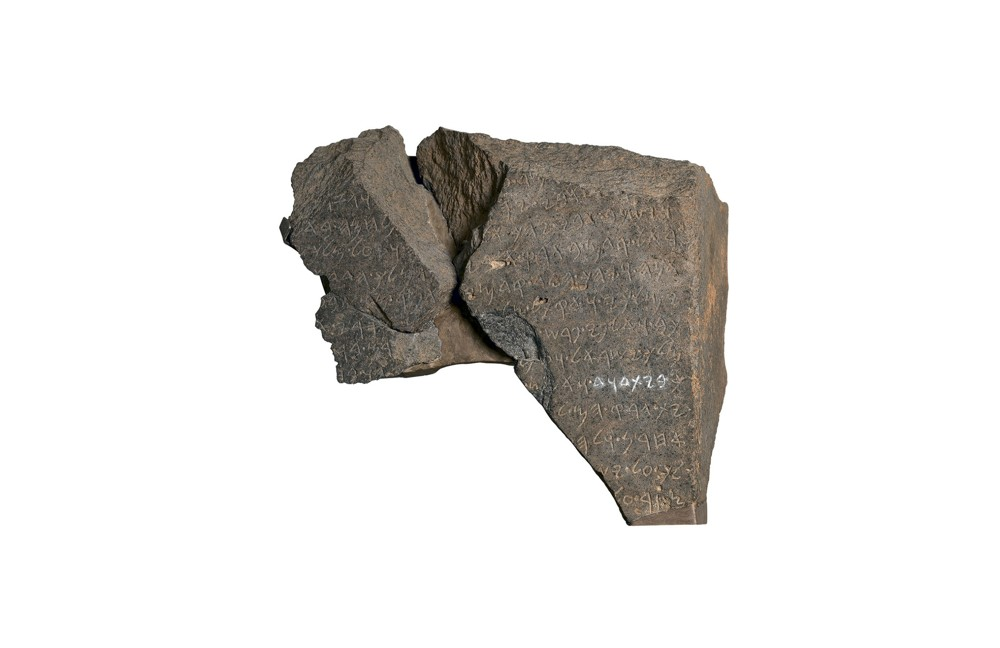 Image result for piedra de la casa de david