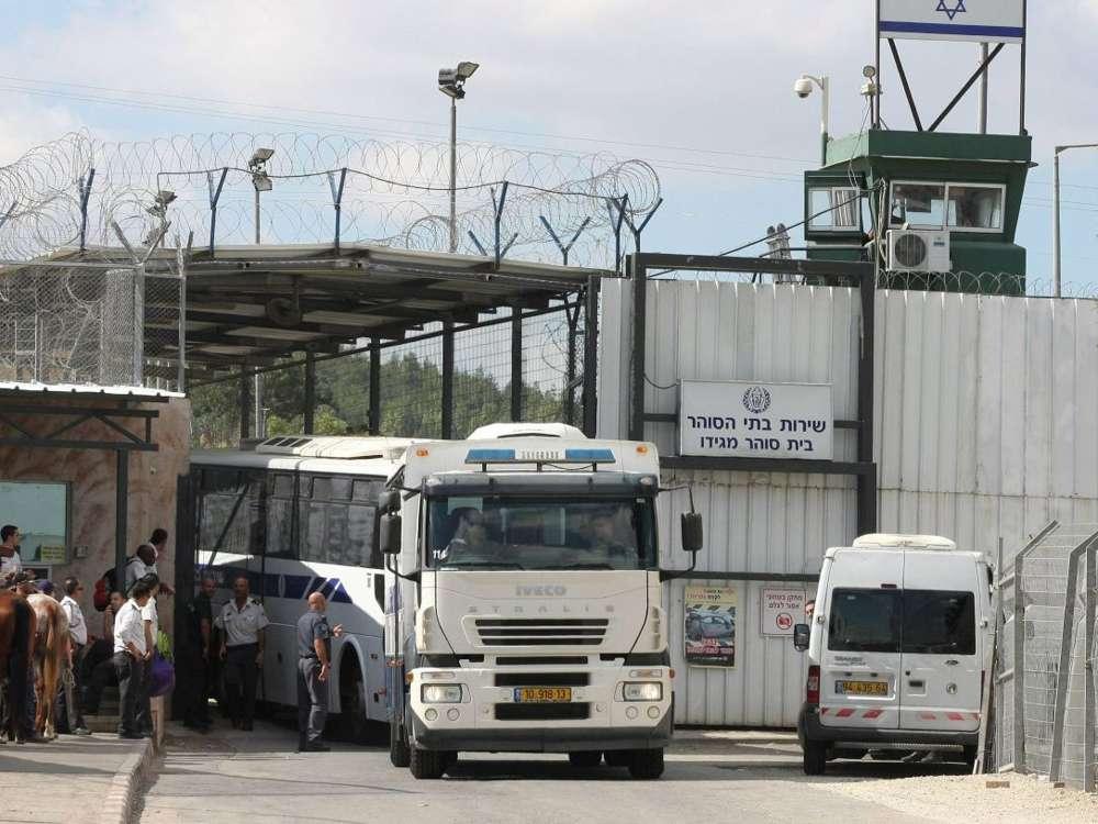 La prisión de Megiddo, que será reemplazada por un parque arqueológico (Foto: Alon Ron)