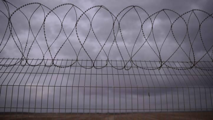 La valla fronteriza entre Israel y Gaza.(Tomer Neuberg / Flash 90)