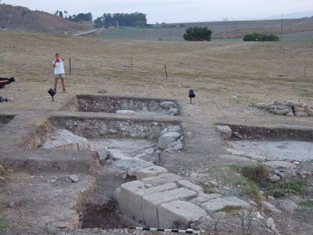 Legio, el mayor comando romano en Tierra Santa fuera de Jerusalem: Meguido, en Galilea(Foto: Dr. Yotam Tepper)