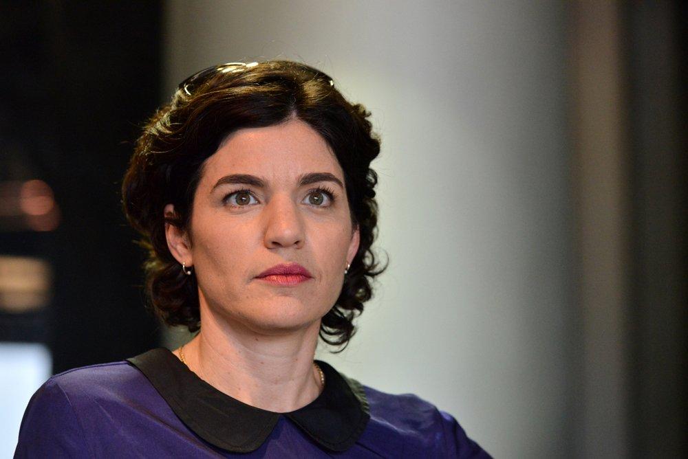 MK Meretz, Zandberg (Foto: Niv Ahoronson)