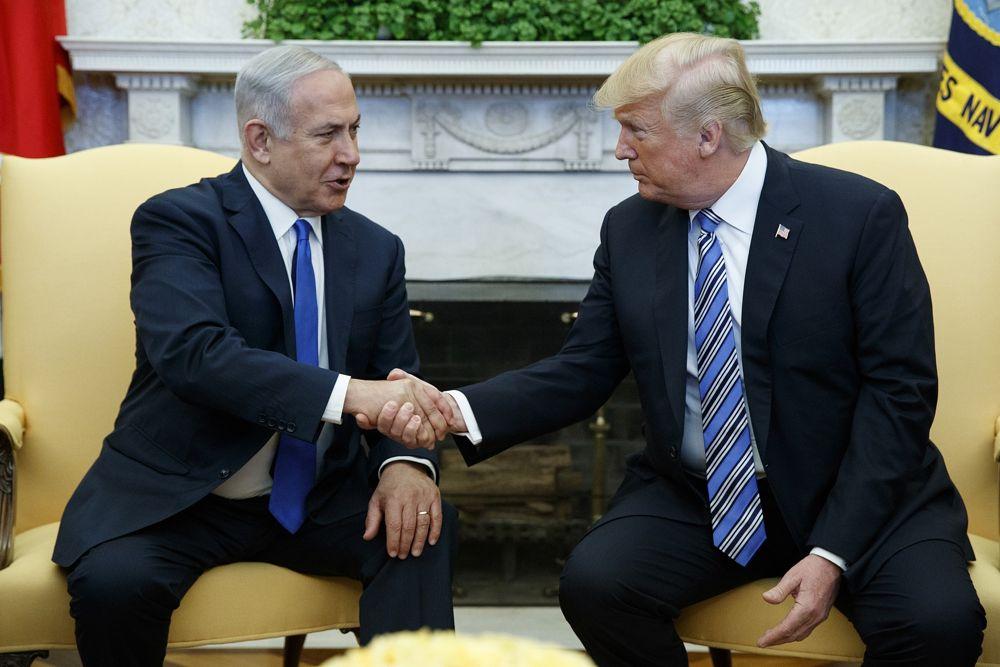 Trump dijo que podría ir a Jerusalem en mayo para inaugurar la embajada