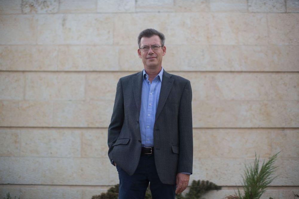 Portavoz del Ministerio de Asuntos Exteriores Emanuel Nachshon, 1 de septiembre de 2014. (Yonatan Sindel / Flash 90)