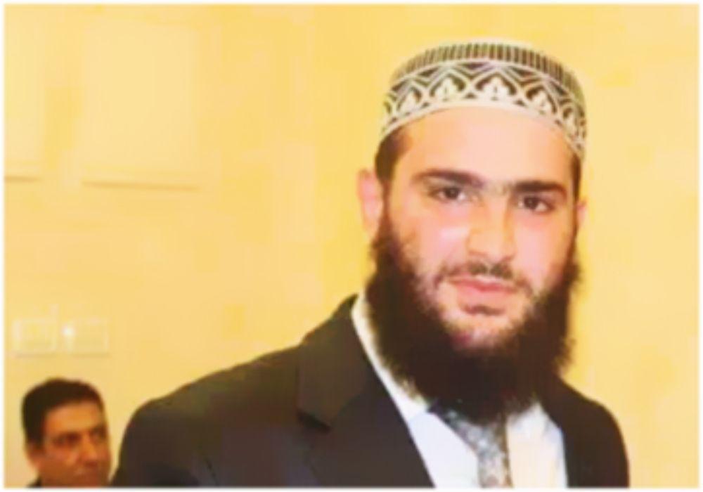 El terrorista musulmán Abd al-Rahman Bani Fadel.