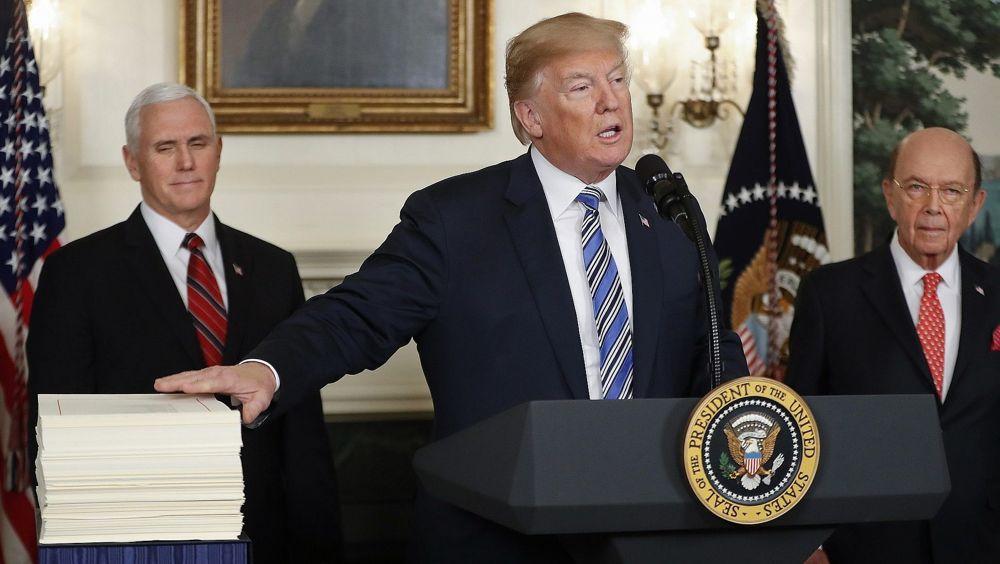 Trump promulgó ley que reduce la ayuda a los palestinos a lo más básico - autoridad palestina - ley taylor force