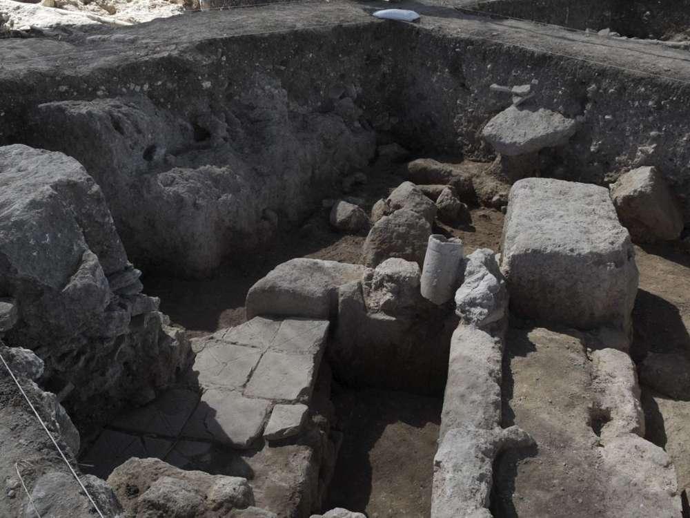 Un antiguo campamento del ejército romano en Armageddon, conocido localmente como Meguido, desde hace unos 2.000 años.(Foto: Eli Posner)