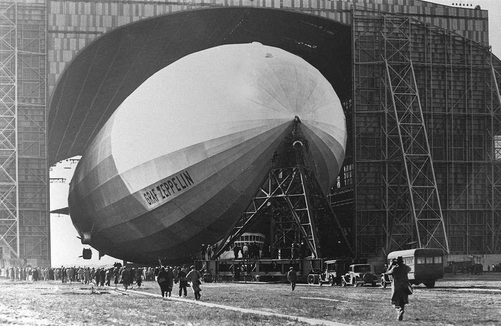Una foto sin fecha del LZ 127 Graf Zeppelin (AP-PHOTO)