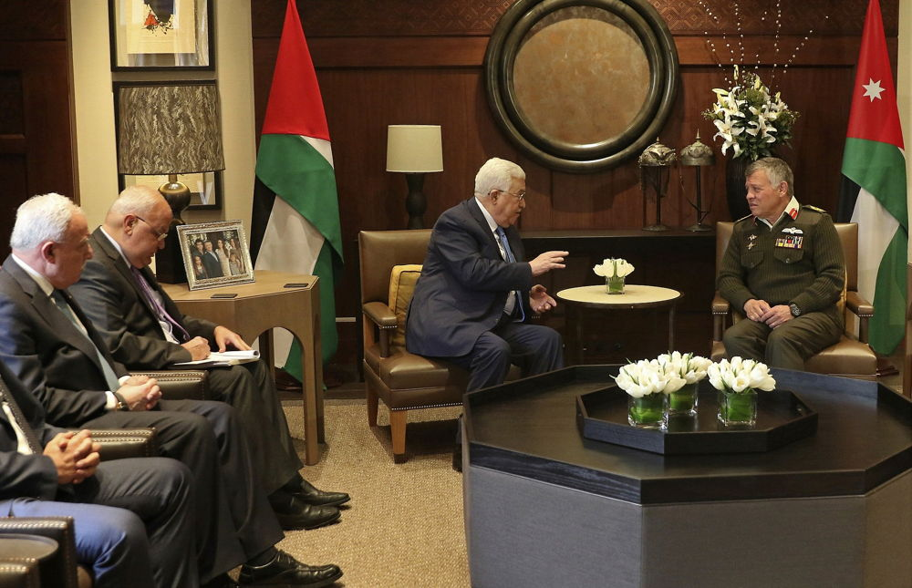 Varios países árabes aconsejan a Abbas que acepte el plan de paz de Trump