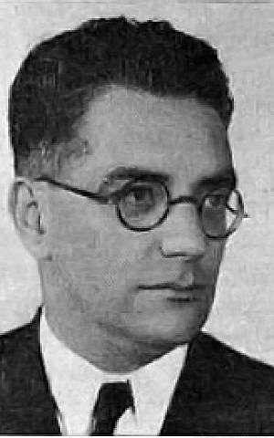 Dr. Wolfgang (Benjamin Zeev) von Weisl (Wikimedia Commons)