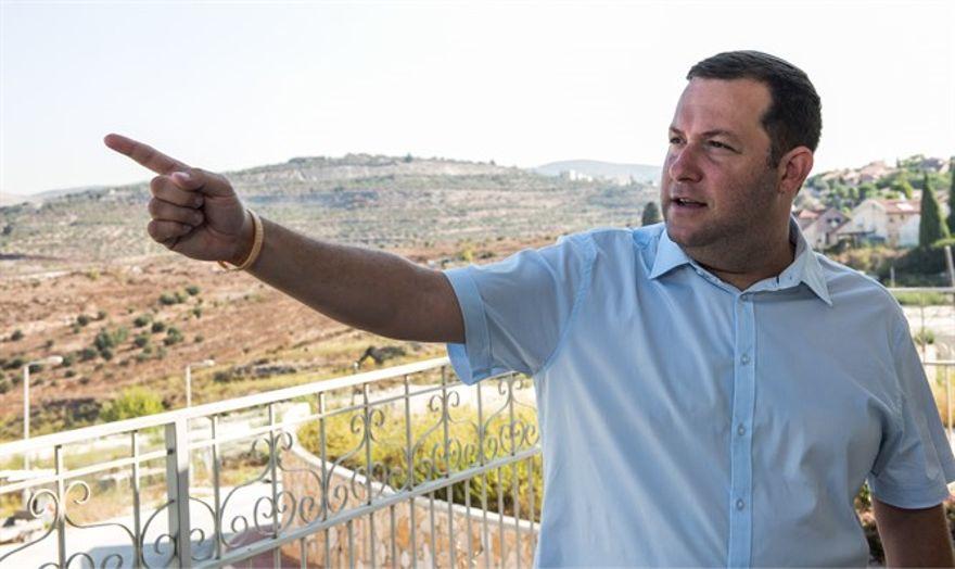 """Yossi Dagan a AIPAC: """"su apoyo para dos Estados no tiene ninguna base"""""""