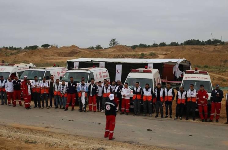 Ambulancias de la Media Luna Roja