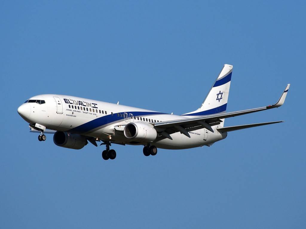 La aerolínea nacional de Israel gana el premio por su portátil El Al Blanket para pasajeros (https://pixabay.com/en/boeing-737-israeli-airlines-take-off-867318/)