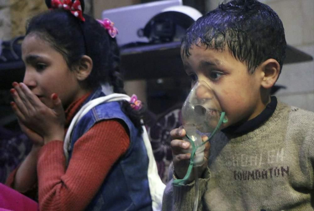 Después del ataque químico en Siria: Israel espera ver una respuesta estadounidense