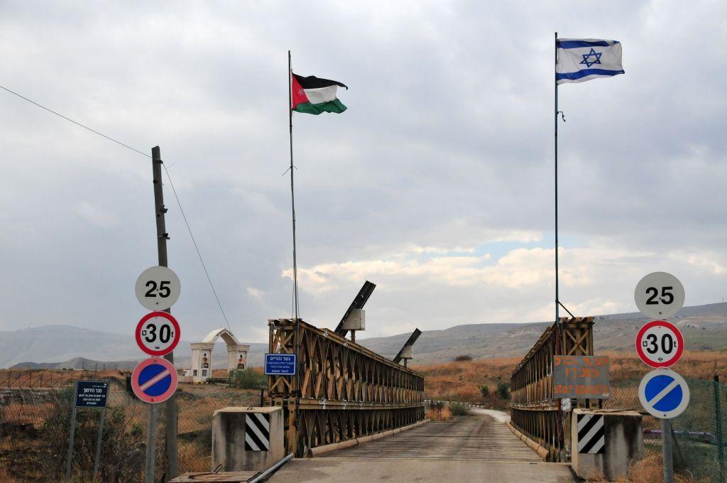 El cruce fronterizo de Allenby Bridge entre Jordania e Israel.(Shay Levy / Flash 90)