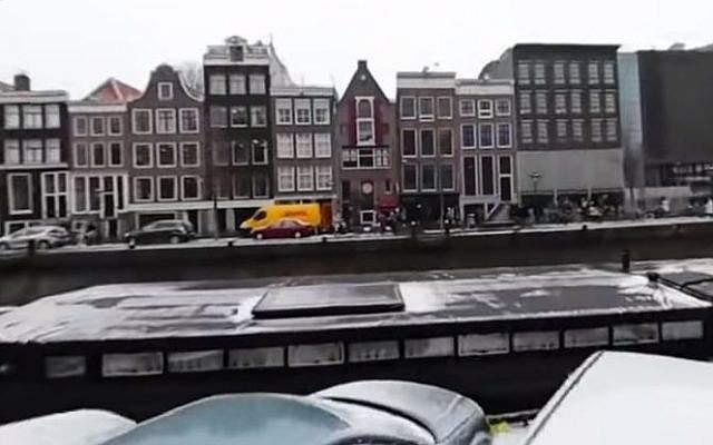 El museo de la casa de Ana Frank en Amsterdam.(Captura de pantalla / YouTube)