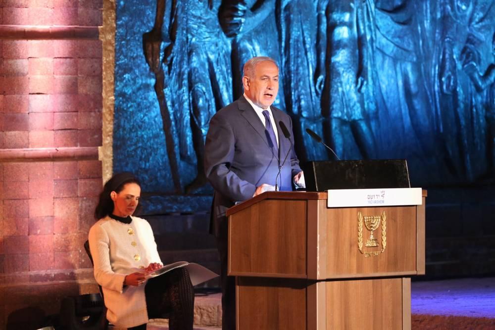En discurso conmemorativo del Holocausto Netanyahu envía advertencia a Irán